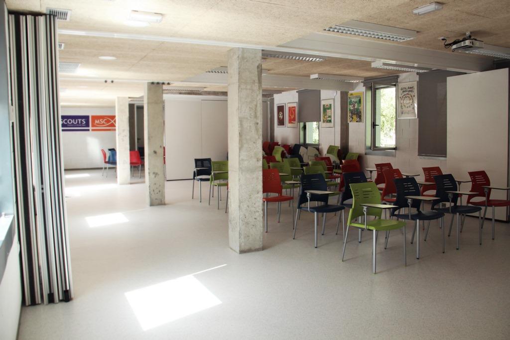 Sala de Conferencias Scout Madrid Hostel - 2
