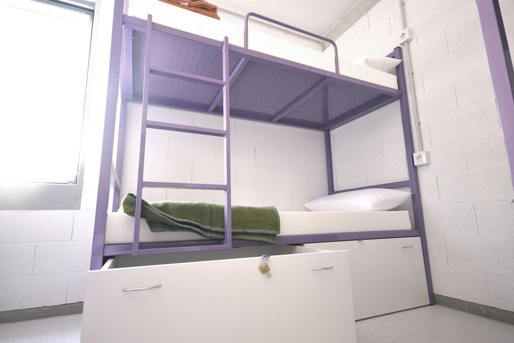 Detalle Literas Scout Madrid Hostel