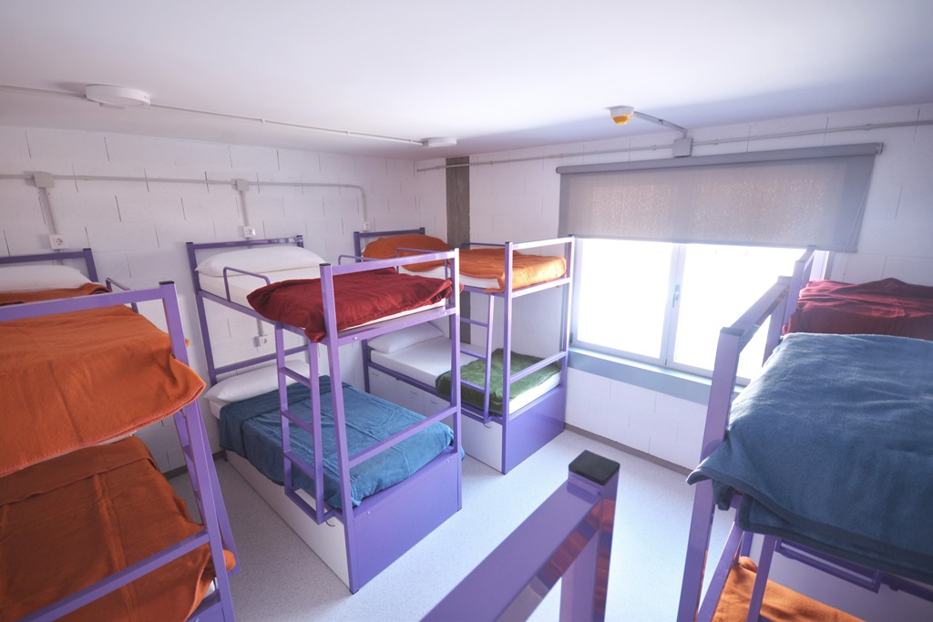Dormitorio de 12 Scout Madrid Hostel-2