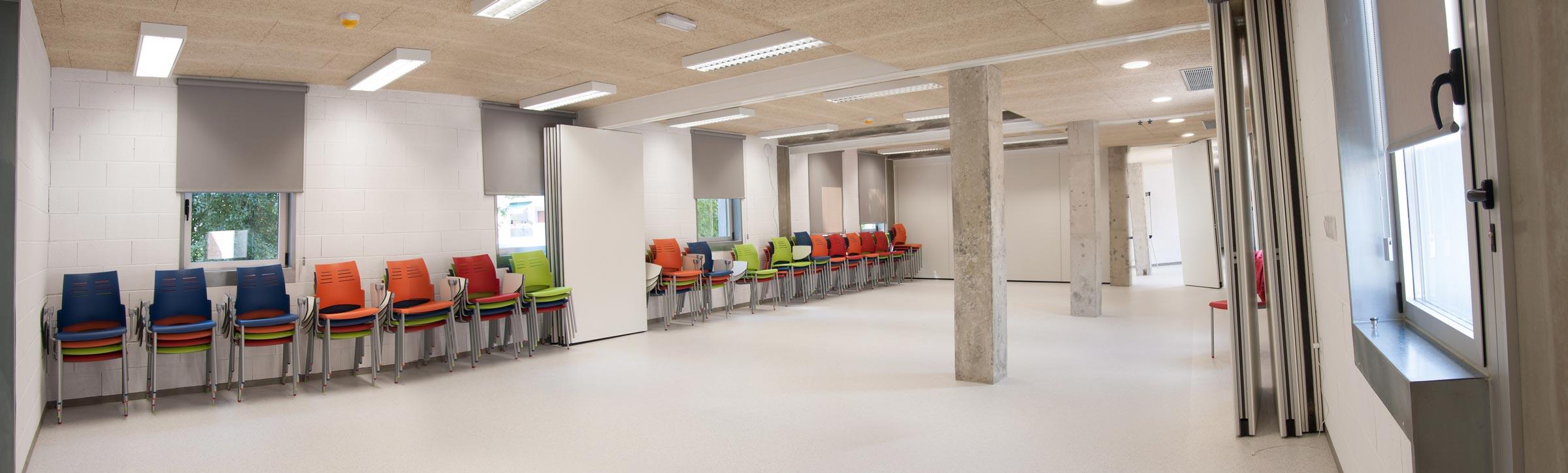 Sala panelable Scout Madrid Hostel